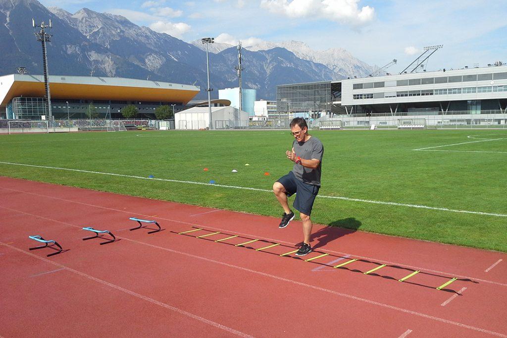 Laufbahn Tivoli Innsbruck
