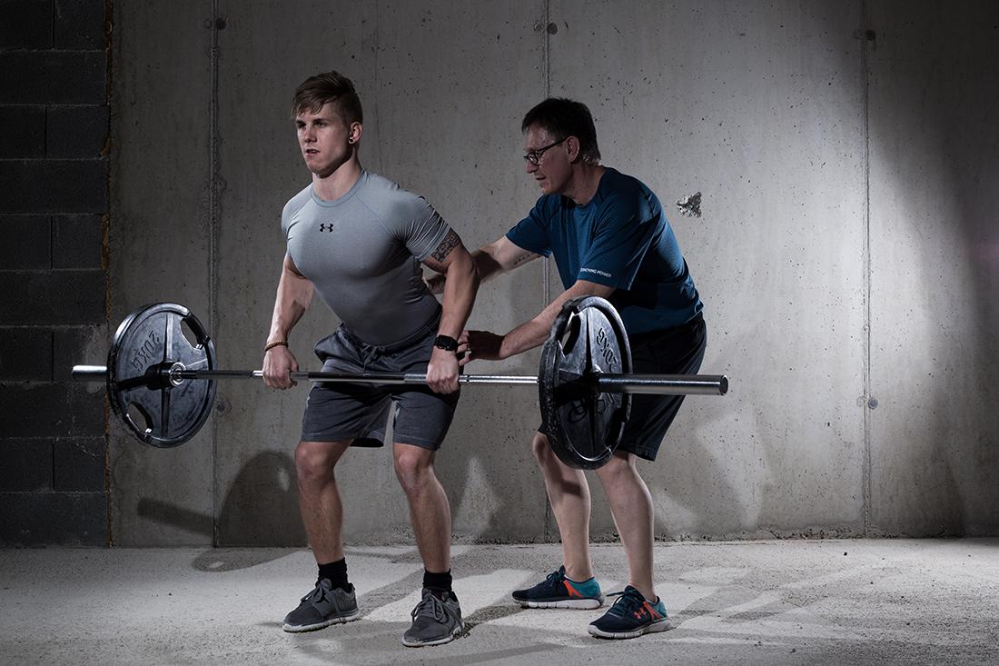 Muskelaufbau Peter Piffer
